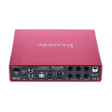 Focusrite Scarlett 6i6 (2nd Gen) USB Audio Interface 3