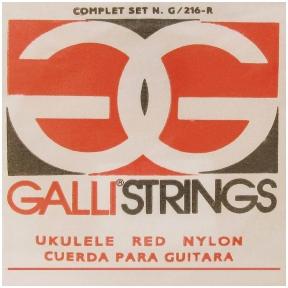 Galli G-216-R Sring Set Soprano Ukulele
