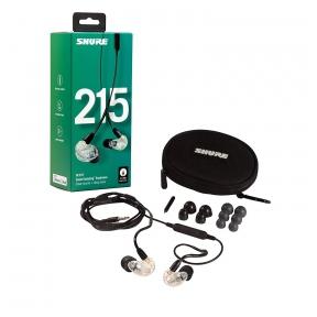 Garsą izoliuojančios ausinės - Shure SE215-CL-UNI-EFS