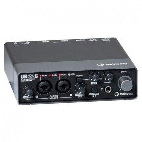 Garso Įrašymo komplektas - Steinberg UR-22C Recording Pack