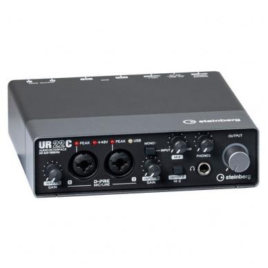 Garso Įrašymo komplektas - Steinberg UR-22C Recording Pack 2