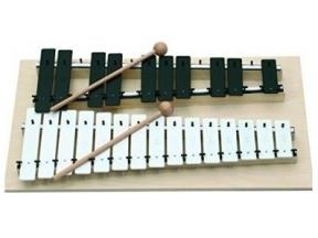 Metalofonai, ksilofonai