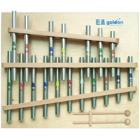 Goldon 11360 18 Notes Chromatic Tubular Chimes