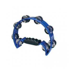 Hayman  HTA-40-BU Half Moon Tambourine - Blue