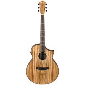 Ibanez AEW-40ZW NT Exotic Wood Electro-Acoustic Guitar