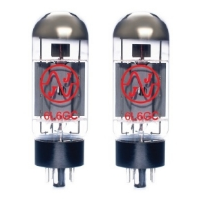 JJ Electronic 6L6GC Matched Pair (2 x 6L6GC) Vacuum PowerTubes