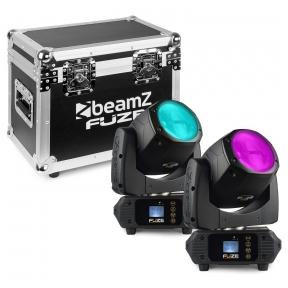 Judančių galvų komplektas su dėže - BEAMZ -  FUZE75B BEAM 75W LED 150.385