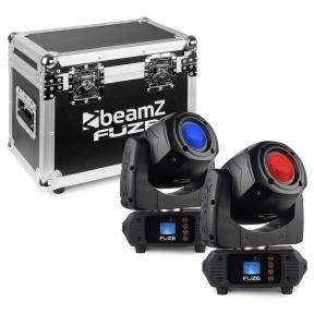 Judančių galvų komplektas su dėže - BEAMZ - FUZE75S SPOT 75W 150.383