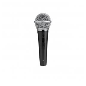 Kardioidinis dinaminis vokalinis mikrofonas - SHURE SM48S-LC