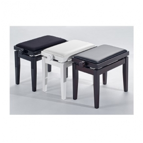 Kėdutė Discacciati KD-20 Black high gloss / black vinyl