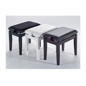 Kėdutė Discacciati KD-20 White high gloss / white vinyl