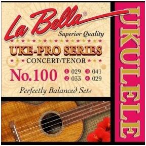 La Bella L-100 Uke-Pro Series String Set Concert/Tenor Ukulele