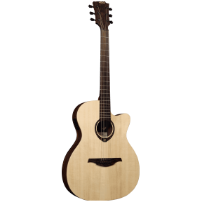 Lag Tramontane 270 T-270ASCE Auditorium Slim Electro Guitar