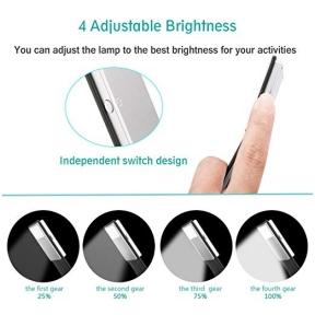 Lanksti daugiafunkcinė USB lemputė