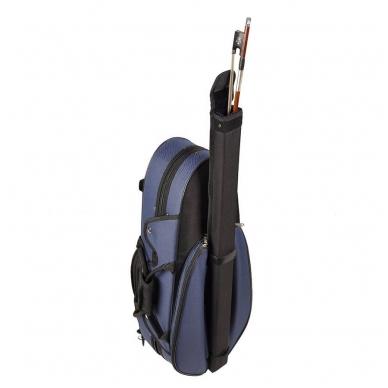 Leonardo VC-1744-BU Travel Series Violin Case 4/4 2