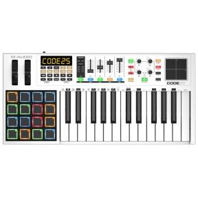M-Audio CODE-25 USB MIDI Keyboard (White)