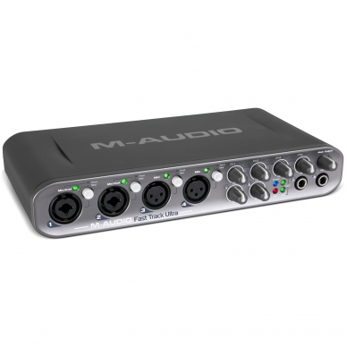 M-Audio Fast Track Ultra USB audio interface + Pro Tools MP 2