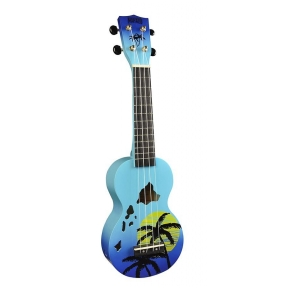 Mahalo MD-1HA/BUB Hawaii ukulele