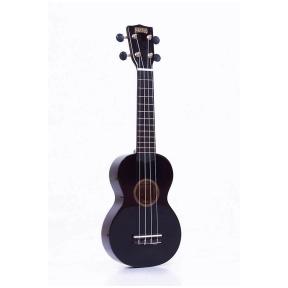 Mahalo MR-1 BK ukulele with guitar machine heads