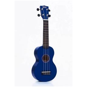 Mahalo MR-1 BU ukulele with guitar machine heads