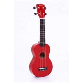 Mahalo MR-1 RD ukulele with guitar machine heads