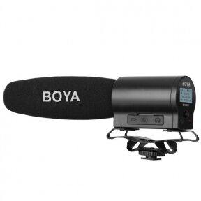 Mikrofonas su įrašymu - Boya - BY-DMR7