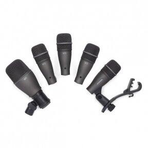 Mikrofonų komplektas būgnams - Samson - DK705