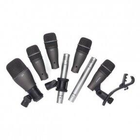 Mikrofonų komplektas būgnams - Samson - DK707
