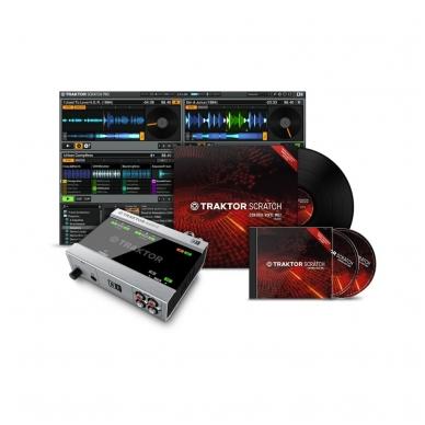 Native Instruments Traktor Scratch A-6 DJ System