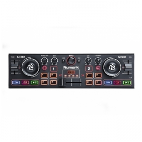 Numark DJ2GO2 - Pocket DJ Controller with Audio Interface