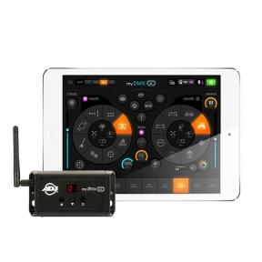 Nuotolinio šviesos valdymo sistema - ADJ mydmx GO