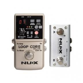 Nux LOOPCDLX/B Core Series Loop Pedal Bundle