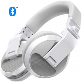 Pioneer HDJ-X5BT-W  - DJ headphones with Bluetooth wireless technology (white)