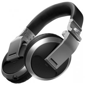 Pioneer Pioneer HDJ-X5-S - DJ headphones (Silver)