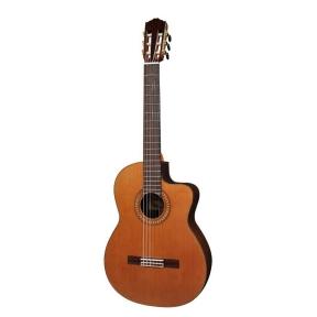 Klasikinė Gitara Su Pajungimu Salvador Cortez CC-60CE Solid Top