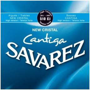 Stygos klasikinei gitarai Savarez 510-CJ New Cristal Cantiga High Tension
