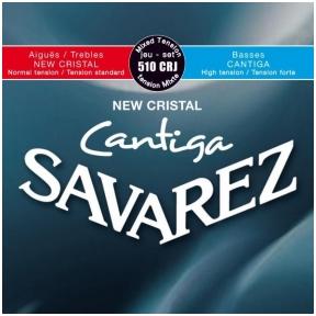 Stygos klasikinei gitarai Savarez 510-CRJ New Crital Cantiga Normal/High Tension