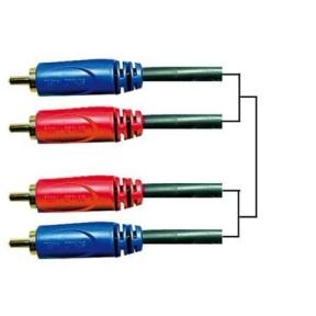 Schulz Kabel GRCA-10 2x RCA - 2x RCA 6m Audio Cable