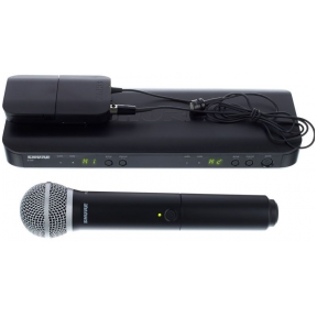 Shure BLX-1288/CVL Dual Channel Combo Wireless System