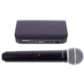 Shure BLX-24/PG58 Handheld Wireless System