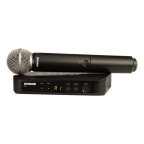 Shure BLX-24/SM58 Handheld Wireless System