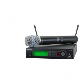 Shure SLX-24/B87A Handheld Wireless System