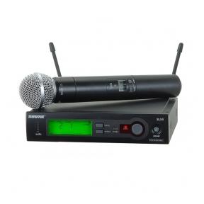 Shure SLX24/SM58-R5 Handheld Wireless System 800-820 mhz
