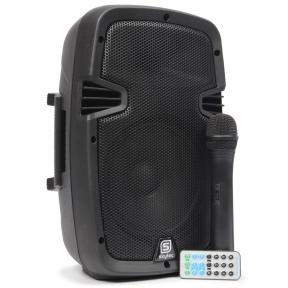 """SkyTec SPJ-PA908 Mobile Amplifier ABS 8"""" BT/VHF/USB/MP3"""