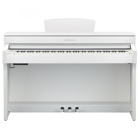 Stacionarus skaitmeninis pianinas Yamaha CLP-635WH Digital Piano - WHITE MATTE