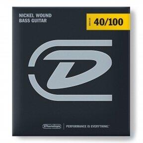 STYGOS BOSINEI GITARAI DUNLOP DBN-40100 NICKEL WOUND LONG SCALE