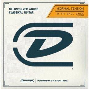 STYGOS KLASIKINEI GITARAI JIM DUNLOP DCV-100NB NORMAL TENSION BALL END CLASSICAL GUITAR STRINGS