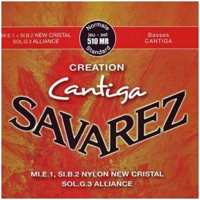 Stygos klasikinei gitarai Savarez 510-MR Creation Cantiga