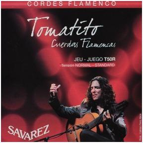 Stygos klasikinei gitarai Savarez T50-R Tomatito signature