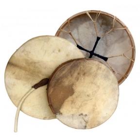 """Terre 38240565 Round Shaman Drum - 19.6"""""""